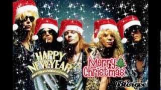 white christmas guns n roses