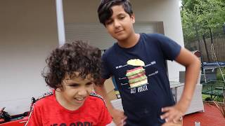 My brother he made me a surprise ,fun videos for kids