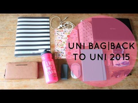 Uni Bag | Back To Uni 2015 || The Set List