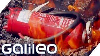 Finde den Lügner | Kann die Explosion eines Feuerlöschers ein Feuer besiegen? | Galileo