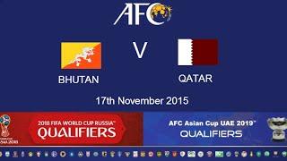 Bhutan vs Qatar  full match