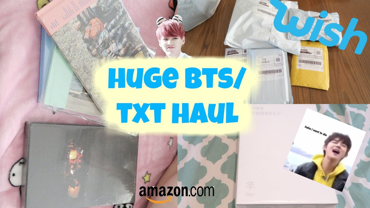 Unboxing 10 BTS Albums In One Video...🌟kpop Haul