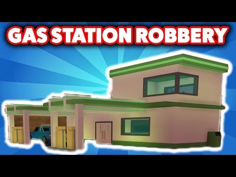 NEW GAS STATION ROBBERY IN ROBLOX JAILBREAK *UPDATE*