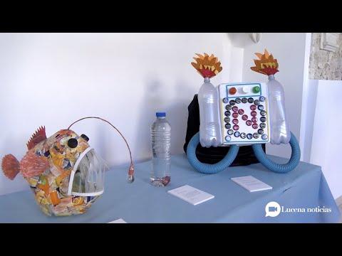 VÍDEO: Medio Ambiente entrega los premios del concurso 'Recíclate' y expone las obras ganadoras en la Casa de los Mora