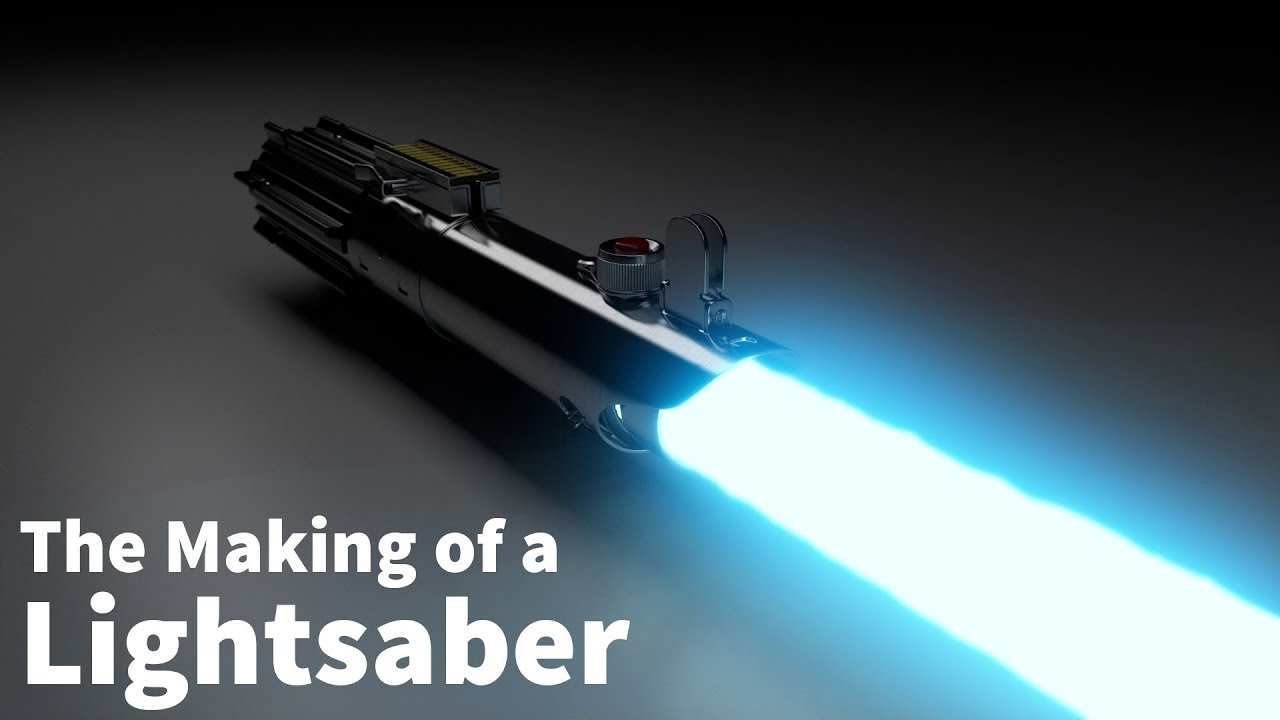 The Making of a Lightsaber - Cinema 4D and Vray