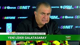 "Fatih Terim: ""Hedef Şampiyonluk"""