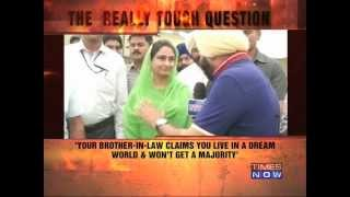 The really tough question: Harsimrat Badal
