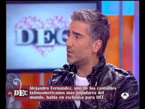 Alejandro Fernandez en DEC 1/4