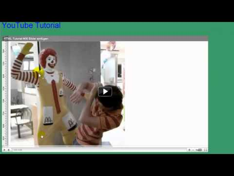 HTML Tutorial #10 Videos Einbetten