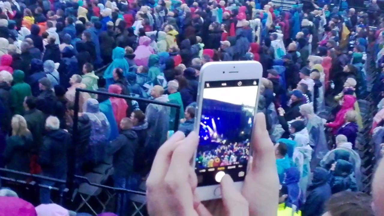 deacon blue edinburgh castle 22 july 2017 born in a storm - youtube