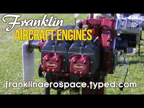 Franklin Aircraft Engines, from Franklin Aerospace, Franklin Engine Parts & Service.