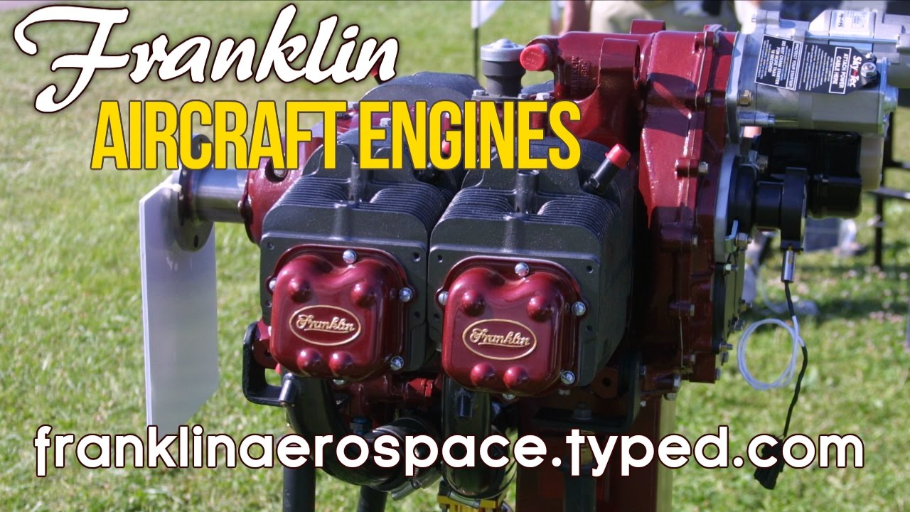 Franklin Aircraft Engines, from Franklin Aerospace, Franklin Engine Parts &  Service