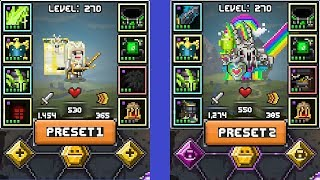 Dear Devs: Could We Get A Preset Button? + Stabling Legendary Familiar Robby #5 [Bit Heroes]