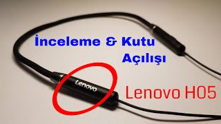 Lenovo HE05 Bluetooth Kulaklık Kutu Açılışı & İnceleme