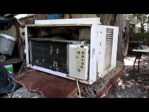 How to Hardwire a Window Air Conditioner - YouTube