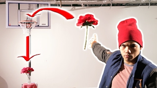 Epic Valentine's Day Trick Shots!