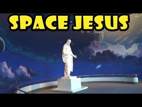 Space Jesus in Salt Lake City
