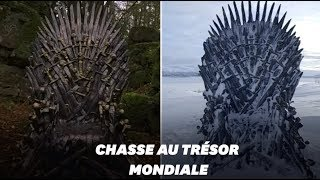 "Baixar Pour le retour de ""Game of Thrones"", HBO a caché 6 trônes de fer à travers le monde"