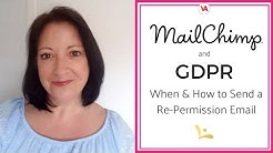 MailChimp and GDPR: When and How to Send a Re-permission Email