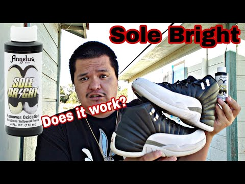 Where I been,and Checking out Angelus Sole bright... does really work?