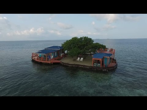 Bird Island is a private island off the coast of Belize on Airbnb