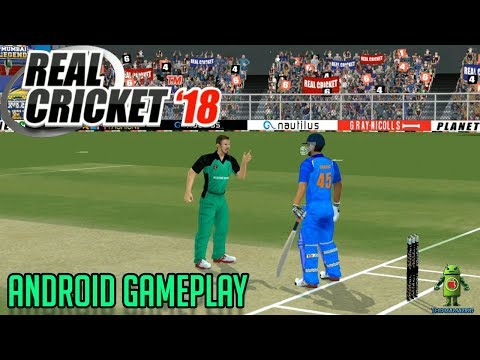 REAL CRICKET 18 - ANDROID GAMEPLAY