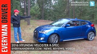 Review 2016 Hyundai Veloster R Spec on Everyman Driver