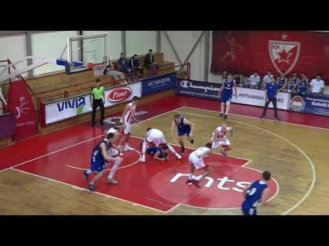 U19 ABA Liga 2017/18 highlights, Round 1: Crvena zvezda mts - Mega Bemax 74:60 (24.11.2017)