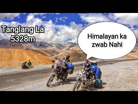 Ladakh Ride part 5 pang to leh [RE Himalayan]