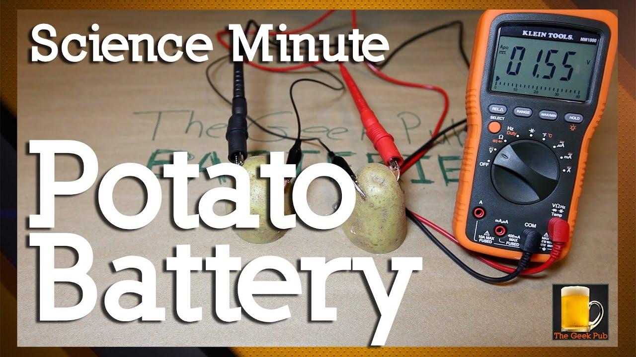 potato battery procedure