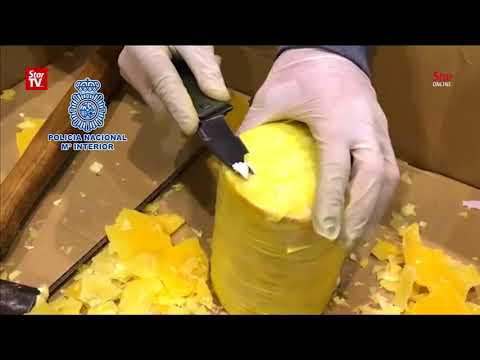 Download Youtube: Portuguese, Spanish police bust huge 'pineapple' cocaine ring