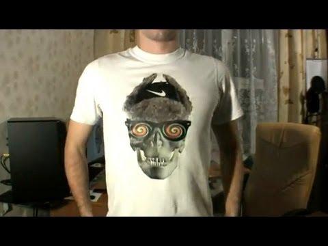 Как печатать фото на футболке, а?