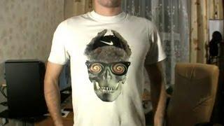 Как печатать фото на футболке, а?(Видео повествует и изображает как с помощью обычного принтера и необычной дешевой бумаги напечатать изобр..., 2011-11-28T22:02:49.000Z)