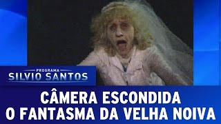 Repeat youtube video Programa Silvio Santos (23/10/16) - O Fantasma da Velha Noiva