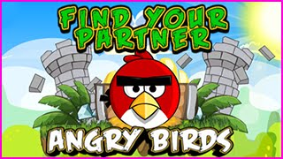 Angry Birds Find Your Partner Level 1-11 Walkthrough