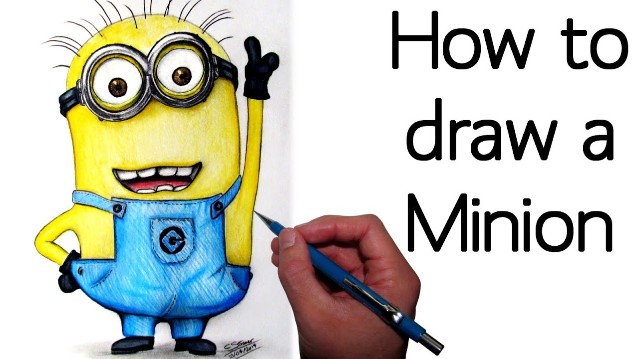 Show me how to draw a minion - Show Me How To Draw A Minion 22