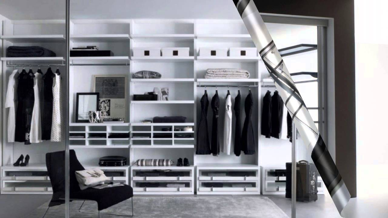 Modern Closet Designs and Ideas  YouTube