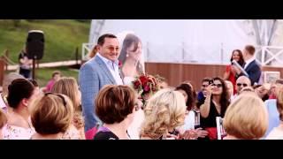 Очень красивая свадьба в Орловском.