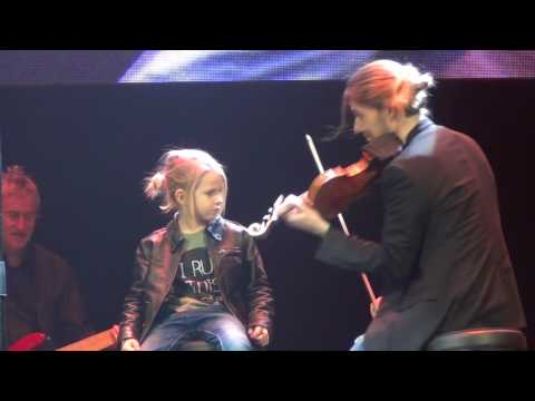 David Garrett - Furious для Вадима (St.Petersburg 14.12.2016)