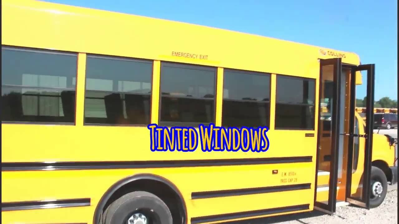 Collins Bus Chevy Free Download School Wiring Diagram 2011 28 Passenger Youtube Transportation At