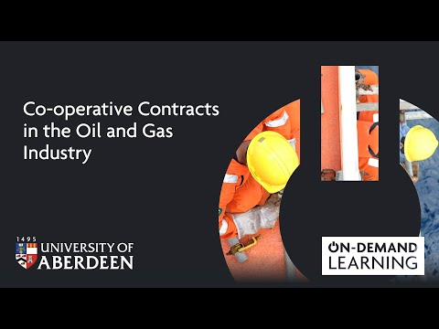 Co-operative Contracts in the Oil and Gas Industry - Online short course