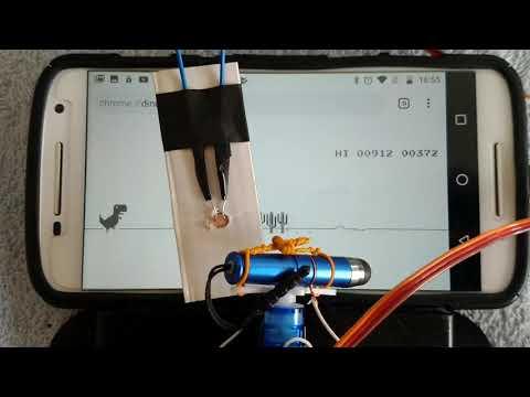 Arduino Uno Playing T-Rex Game Dino Google No Internet Game Hack Trick Record