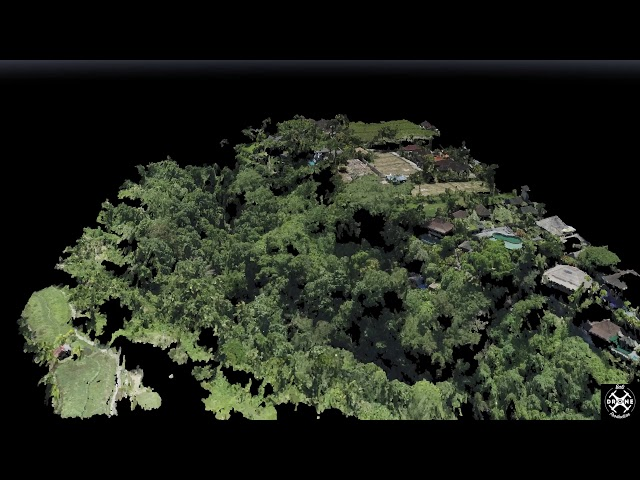 Construction Ubud - 3D Mapping Point cloud