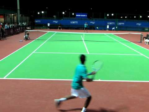 SIN CHALLENGER TENNIS 2011 S Devvarman VS P Siriluethaiwattana