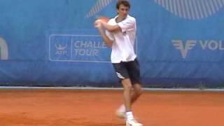 Jovan Zeljkovic - college tennis recruting video 2010 part #1