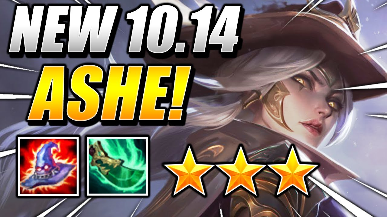 NEW ⭐⭐⭐ ASHE OP! - Teamfight Tactics 10.14 Patch Guide BEST SET 3.5 COMPS Galaxies RANKED Strategy