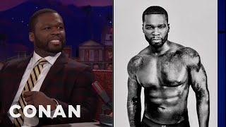 curtis 50 cent jackson on his 125 underwear conan on tbs