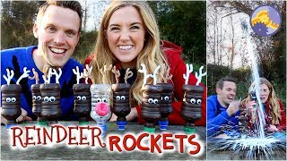 How to make Reindeer Rockets! | Maddie Moate