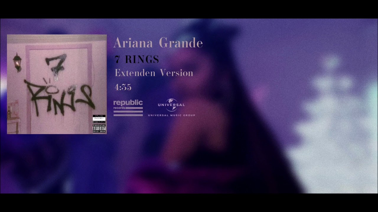 Download Ariana Grande - 7 Rings (Extended Version) DL