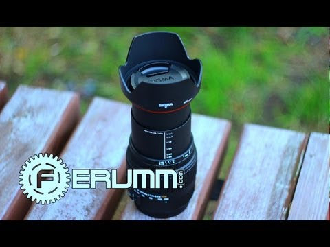 SIGMA AF 18-200 mm f3.5-6.3 II DC OS Обзор. Подробный  Видеообзор от FERUMM.COM -TECHPOINT-